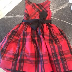 Plaid Red and Black dress. Like new.